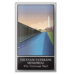 Vietnam Veterans Memorial - The National Mall Pin