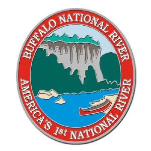 Buffalo National River Collectible Lapel Pin