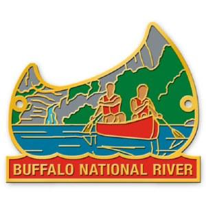 Buffalo National River Hiking Stick Medallion