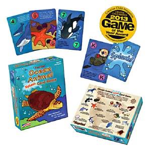 Ocean Animal Splash! Card Game