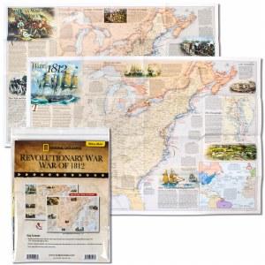 Revolutionary War and War of 1812 Map