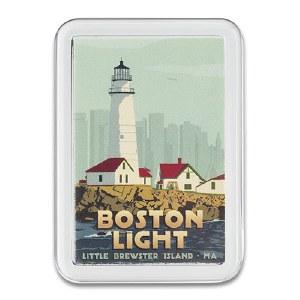 Boston Light Magnet