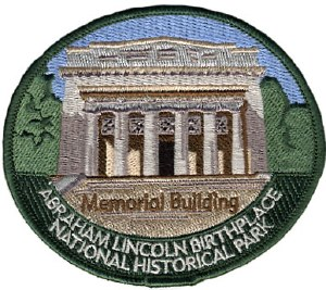 Abraham Lincoln Birthplace NHP Embroidered Patch