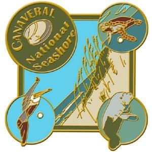 Canaveral National Seashore Hiking Medallion