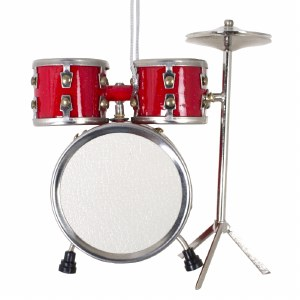 Red Drum Set Ornament