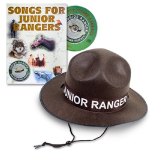 Junior Ranger Hat & Songs for Junior Rangers CD Vol 2
