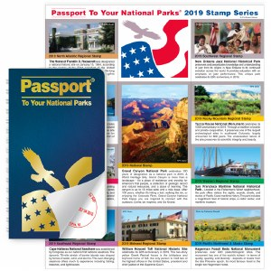 Passport To Your National Parks® Classic Edition and 2019 Stamp Set