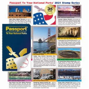 Passport To Your National Parks® Classic Edition and 2021 Stamp Set