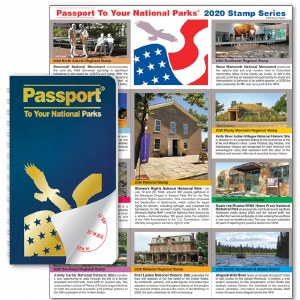 Passport To Your National Parks® Classic Edition and 2020 Stamp Set