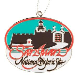 San Juan National Historic Site Ornament