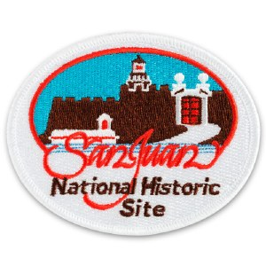 San Juan National Historic Site Embroidered Patch