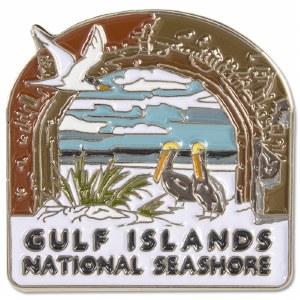 Gulf Islands National Seashore Pin