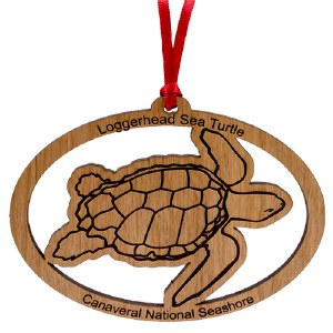 Canaveral National Seashore Loggerhead Ornament