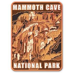 Mammoth Cave Golden Fleece Pin