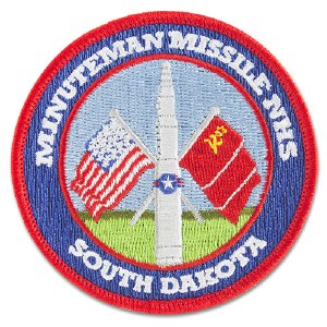 Minuteman Missile NHS Embroidered Patch