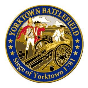 Yorktown Battlefield Lapel Pin