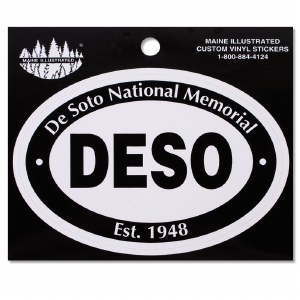 De Soto National Memorial Decal