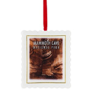Porcelain Mammoth Cave Ornament