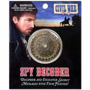 Civil War Spy Decoder