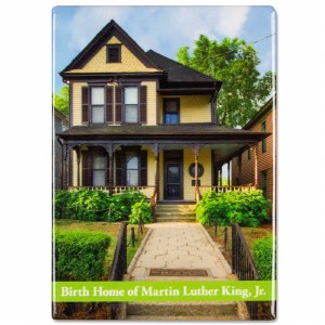Birth Home Of Martin Luther King, Jr. Magnet