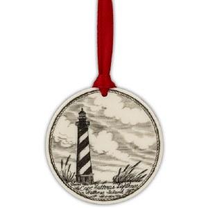 Scrimshaw Cape Hatteras Ornament