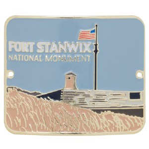 Fort Stanwix Hiking Stick Medallion
