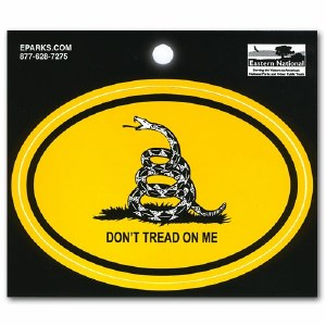 DON'T TREAD ON ME (Gadsden Flag) Decal