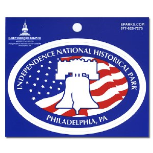 Independence National Historical Park Bell Decal