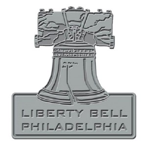Liberty Bell Collectible Pewter Lapel Pin