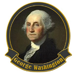 Founding Father George Washington Collectible Lapel Pin