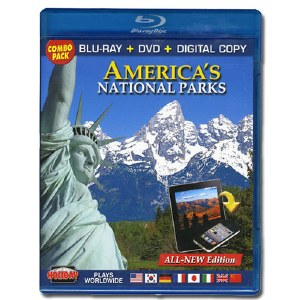 America's National Parks DVD, Blu-ray, and Digital Copy