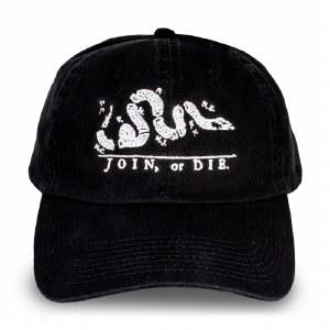 Join or Die Baseball Cap