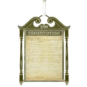 United States Constitution Ornament