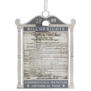 Bill of Rights Ornament