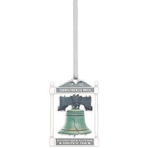 Liberty Bell Metal Ornament