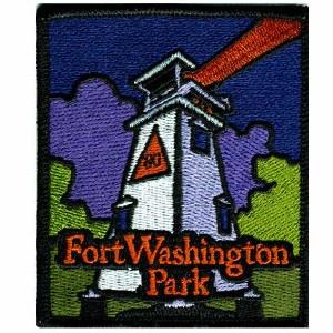 Fort Washington Park Lighthouse Patch