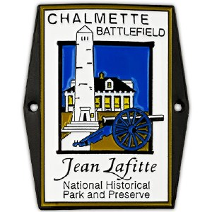 Chalmette Battlefield Hiking Medallion