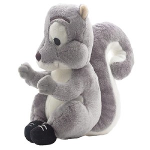 Skuggs Plush Grey Squirrel