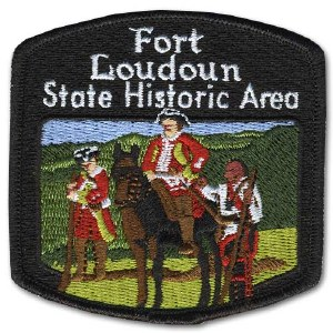 Fort Loudoun State Historic Area Embroidered Patch