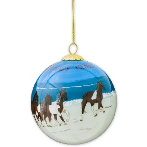 Wild Ponies Ornament