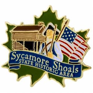 Sycamore Shoals Pin