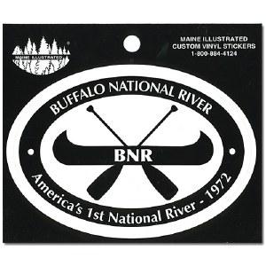 Buffalo National River Decal