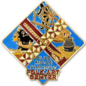 Blue Ridge Parkway Folk Art Center Lapel Pin