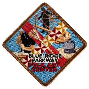 Blue Ridge Parkway Folk Art Center Patch