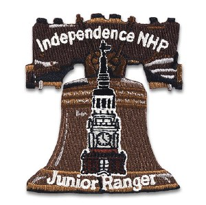 Independence NHP Junior Ranger Embroidered Patch