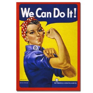 We Can Do It! Rosie the Riveter Playing Cards