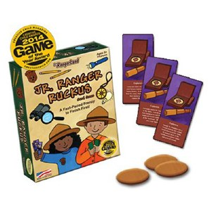Jr. Ranger Ruckus Card Game