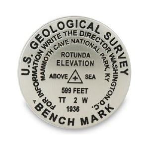 Replica 1936 USGS Mammoth Cave Pin