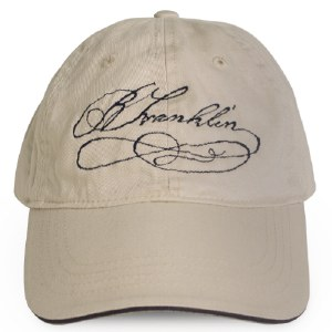 Benjamin Franklin Signature Hat
