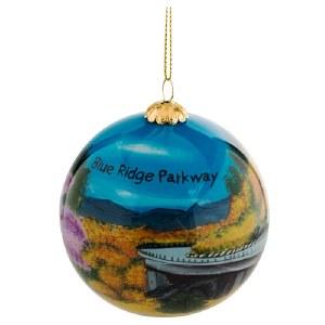 "Blue Ridge Parkway ""Road Seasons"" Globe Ornament"
